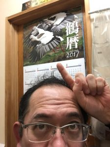 コウノトリのカレンダー