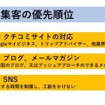 Web集客の優先順位~コムサポ2018年度バージョン(クチコミ>ブログ>SNS)